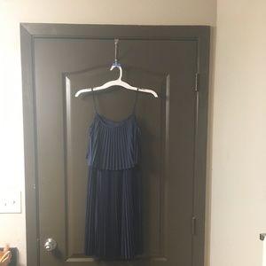 NWOT Navy Blue Spaghetti Strap Dress